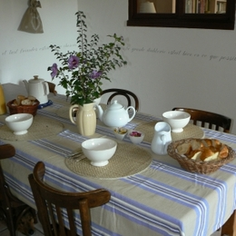 Chambre d'hôtes à Boisset les Montrond - petit déjeuner - Chambre d'hôtes - Boisset-lès-Montrond