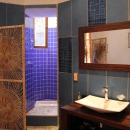 Le Berthoir - Salle d'eau Chambre Georges de la Tour - Chambre d'hôtes - Pélussin