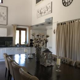 Le Viallon - Accueil et espace petit-déjeuner - Chambre d'hôtes - Véranne