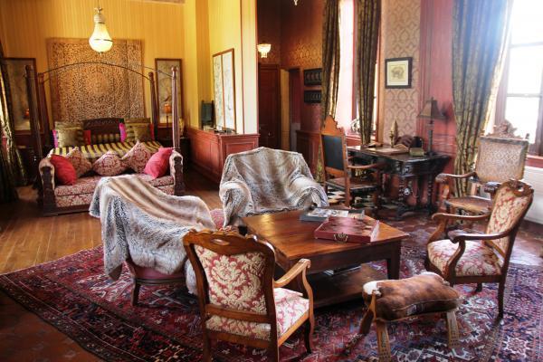 Le Château d'Origny - La Suite Coloniale - Chambre d'hôtes - Ouches