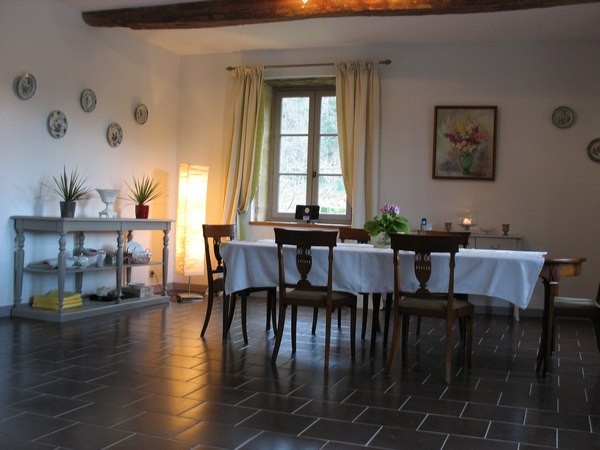 Chambres d'hôtes du Château du Bourg - Pièce commune - Chambre d'hôtes - Perreux