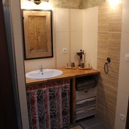 Chambres d'hôtes près de la Chartreuse de Sainte-Croix-en-Jarez - Salle d'eau Chambre Belle de Nuit - Chambre d'hôtes - Sainte-Croix-en-Jarez