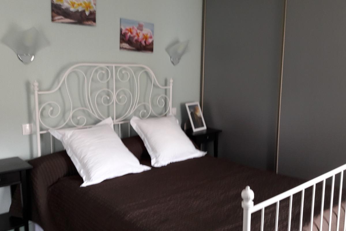 Granite - Lit Double - Chambre d'hôtes - Rozier-en-Donzy