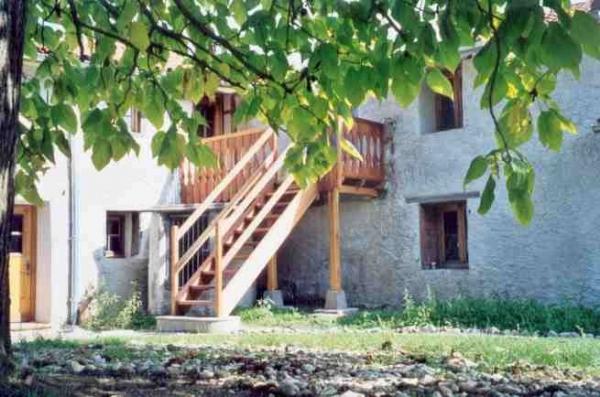 L'ombre délicieuse du grand catalpa au Domaine de la Loge  - Chambre d'hôtes - Montverdun