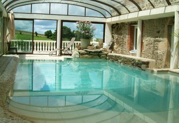 Le Domaine de Bonnefond - Piscine - Chambre d'hôtes - Saint-Romain-les-Atheux