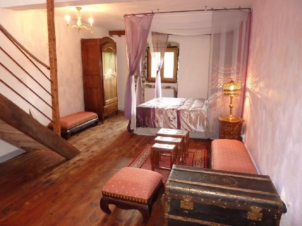 Le Refuge des Chevaliers - Chambre Afrique - Chambre d'hôtes - Saint-Just-en-Chevalet