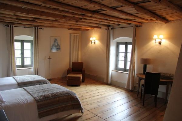Le Rézinet - Chambre Céladon - Chambre d'hôtes - Marcilly-le-Châtel