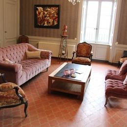 Le Rézinet - Salon - Chambre d'hôtes - Marcilly-le-Châtel