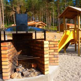 Les Chalets du Haut-Forez - barbecue Collectif - Location de vacances - Usson-en-Forez