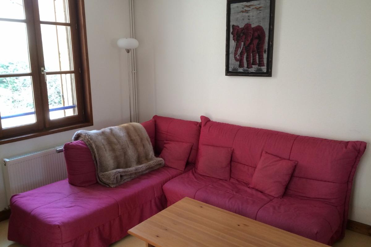Appartement duplex en plein centre de Charlieu - Salon - Location de vacances - Charlieu