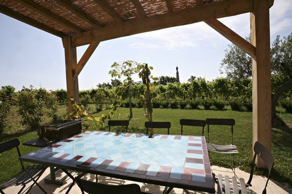Gite l'étable d'Hélène - Terrasse - Location de vacances - Chavanay