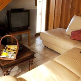 Gite l'étable d'Hélène - Salon - Location de vacances - Chavanay