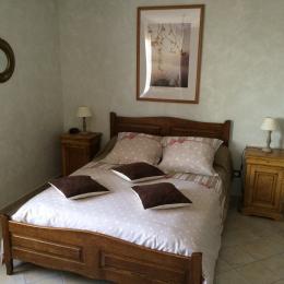 Les Charmilles, maison avec jardin - Chambre - Location de vacances - Merle-Leignec