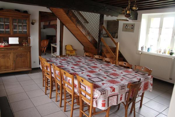 La Ferme du Tilleul : Salle à manger - Location de vacances - Grammond