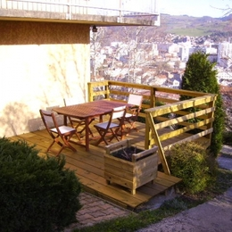 Appartement à Saint Etienne - Terrasse - Location de vacances - Saint-Étienne