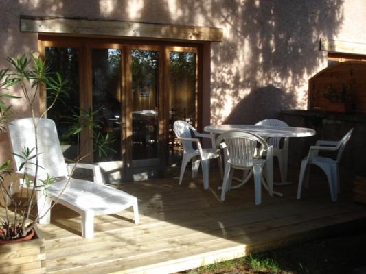 Les Tilleuls - Terrasse - Location de vacances - Bellegarde-en-Forez