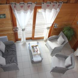 Chalet à Chalmazel - Salon - Location de vacances - Chalmazel