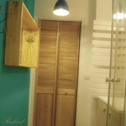 Appartement Bourg Argental : salle d'eau - Location de vacances - Bourg-Argental
