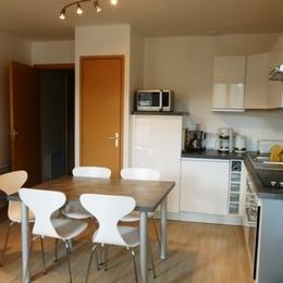 Appartement à Chalmazel les Jasseries - Cuisine - Location de vacances - Chalmazel