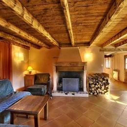Gîte rural du Domaine de la Loge - Salon - Photo Philippe Jalin - Location de vacances - Montverdun