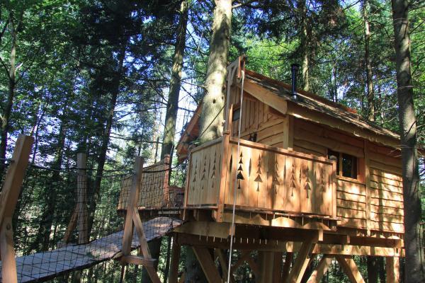 Les Cabanes des Vieux Coucous - La Caracoule - Chambre d'hôtes - Cottance