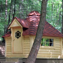 Les cabanes de la Croix Couverte - La cabane des lutins - Chambre d'hôtes - Sevelinges