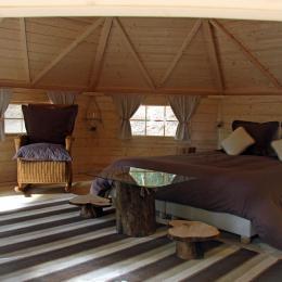 Les cabanes de la Croix Couverte - La cabane le temps d´un rêve - Chambre d'hôtes - Sevelinges