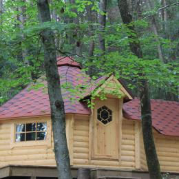 Les cabanes de la Croix Couverte - La cabane la clef d´or - Chambre d'hôtes - Sevelinges