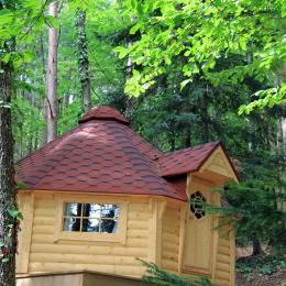 Les cabanes de la Croix Couverte - La cabane du petit poucet - Chambre d'hôtes - Sevelinges