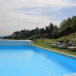 Gîte avec piscine chauffée à la campagne - Location de vacances - Dancé