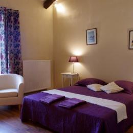 L'Elixir, appartement au cœur de la Chartreuse de Sainte-Croix-en-Jarez - Chambre - Location de vacances - Sainte-Croix-en-Jarez