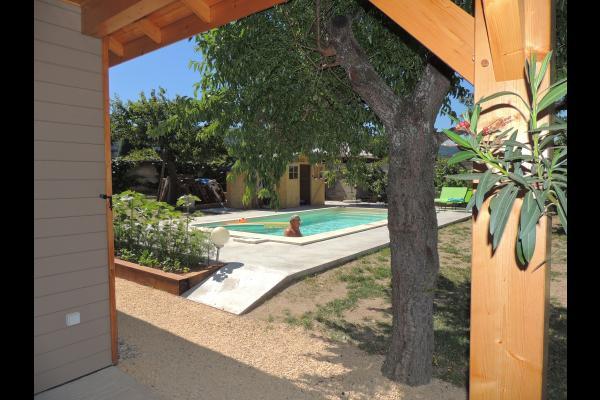 Chambres d'hôtes avec piscine dans le Parc naturel régional du Pilat - Piscine - Chambre d'hôtes - Lupé