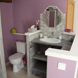 Chambres d'hôtes au cœur du Parc naturel régional du Pilat - Salle d'eau - Chambre d'hôtes - Pavezin