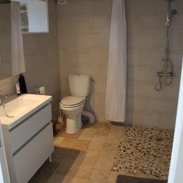 Gîte le Pradou - Salle d'eau - Location de vacances - Usson-en-Forez
