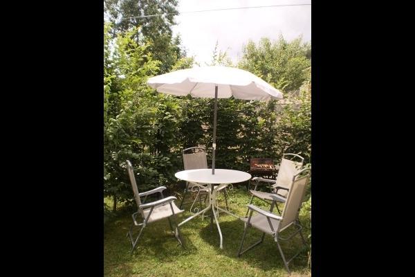 salon jardin gite - Location de vacances - Auzon