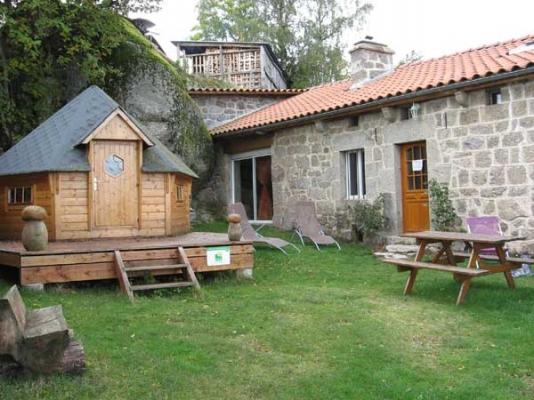 Au repos d'antan - la Clauze - 43170 GREZES - Location de vacances - Grèzes