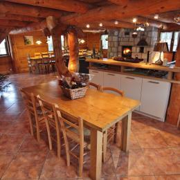cuisine - Location de vacances - Mazet-Saint-Voy
