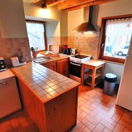 La cuisine - Location de vacances - Moudeyres