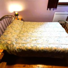 Chambre 3 lits au 2° étage - Location de vacances - Moudeyres