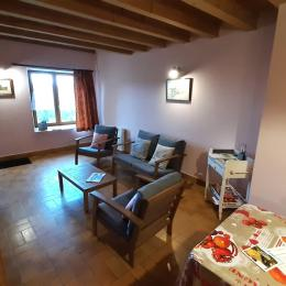 Chambre double au 1° étage - Location de vacances - Moudeyres