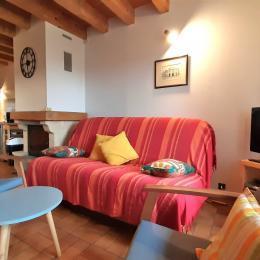 Chambre double - Location de vacances - Moudeyres
