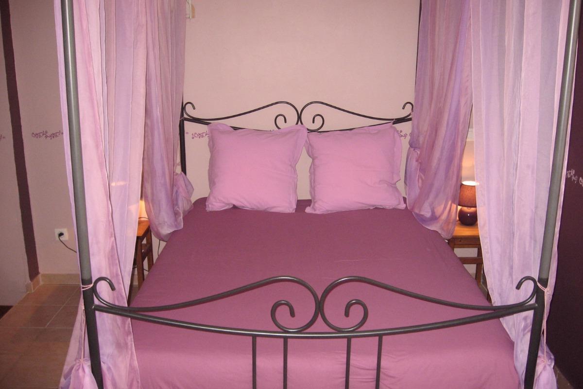 Chambre double La Romantique avec coin détente - Chambre d'hôtes - Saint-Privat-d'Allier