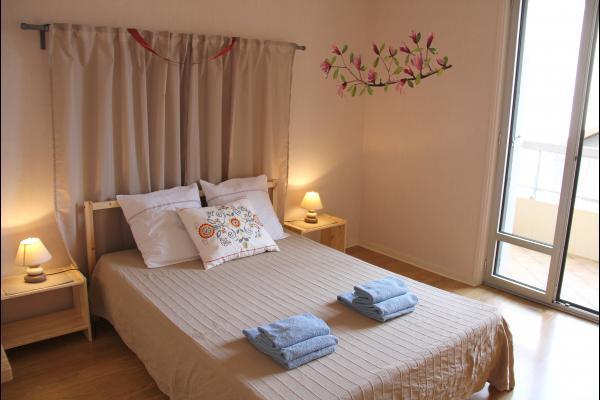 Chambre couple. - Location de vacances - Le Puy-en-Velay