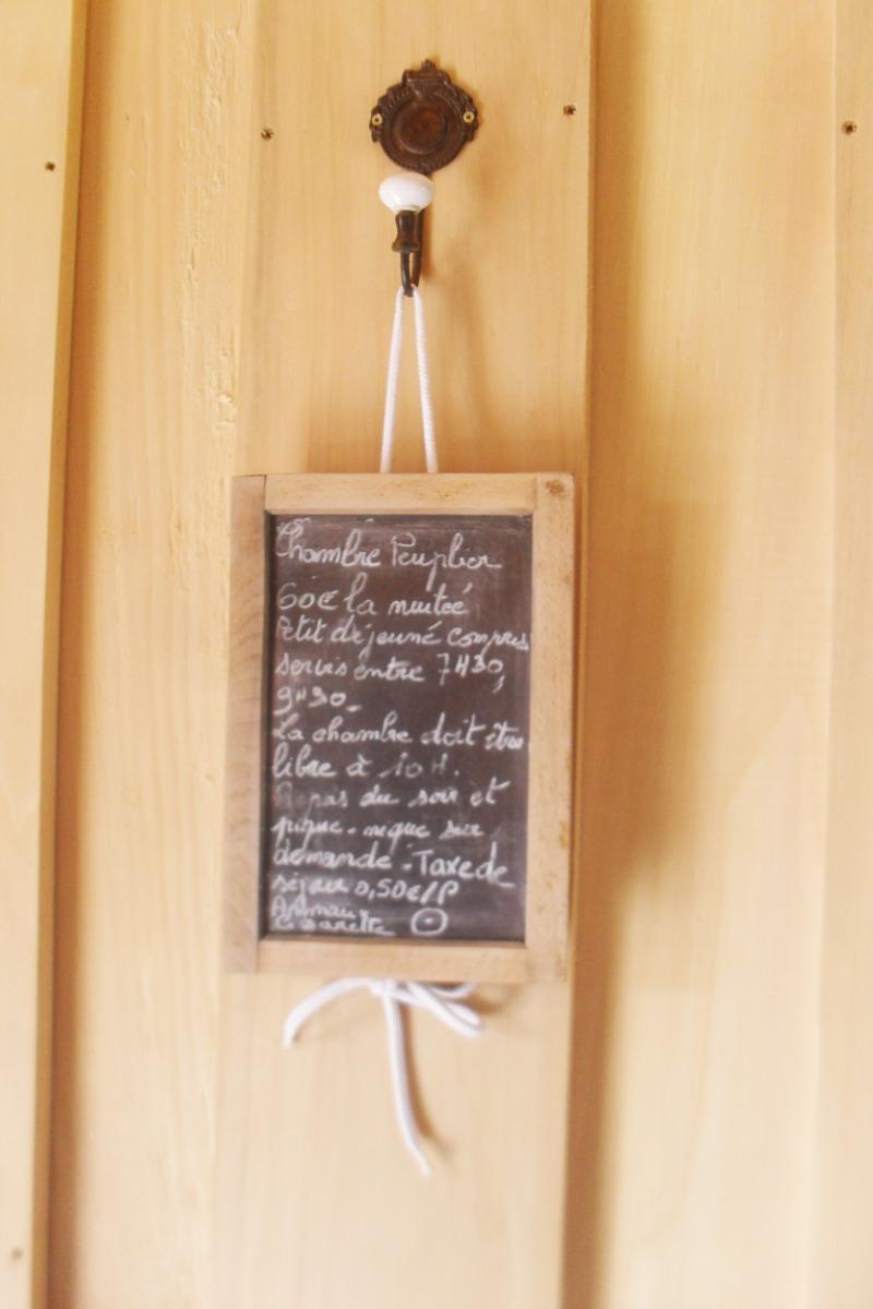 Chambre Peuplier - Chambre d'hôtes - Saint-Julien-du-Pinet