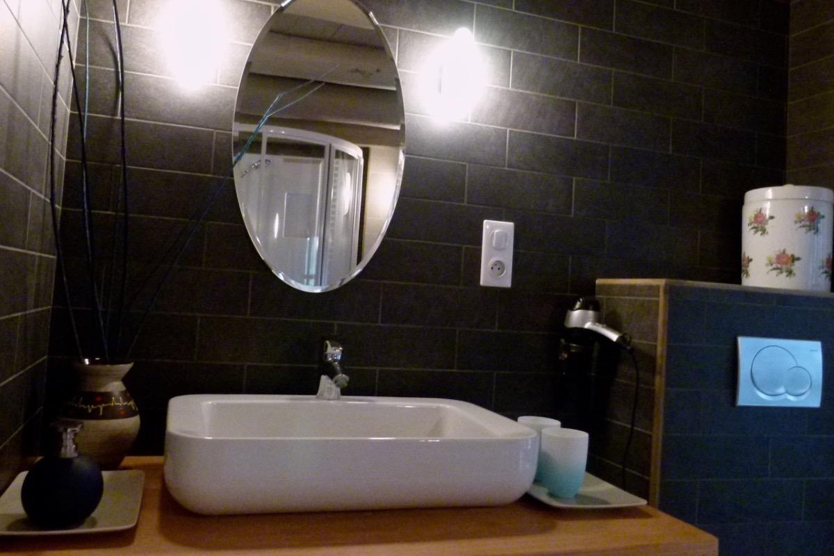 le lavabo - Chambre d'hôtes - Saint-Bérain
