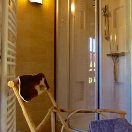 la salle de bain - Chambre d'hôtes - Saint-Bérain