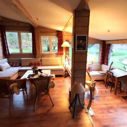 intérieur chaleureux  - Location de vacances - Le Chambon-sur-Lignon