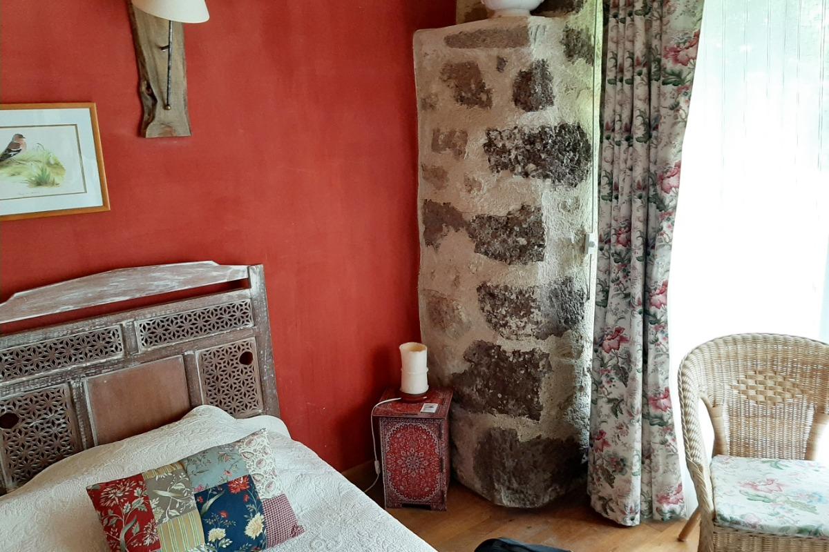 Chambre Demoiselle - 2 pers. - La Maison du Lac - Lac de Malaguet - 43270 Monlet  - Chambre d'hôtes - Monlet