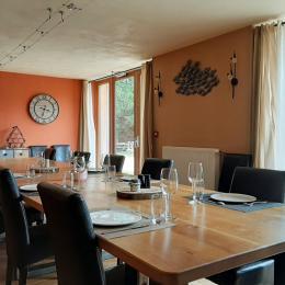 Salle à manger - La Maison du Lac - Lac de Malaguet - 43270 Monlet - Chambre d'hôtes - Monlet