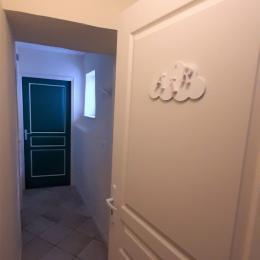 2ème étage - Suite parentale (Chambres Air et Suite Air), chambres indépendantes et côte à côte, sanitaires privatifs aux chambres (SDE-WC). - Chambre d'hôtes - Brioude
